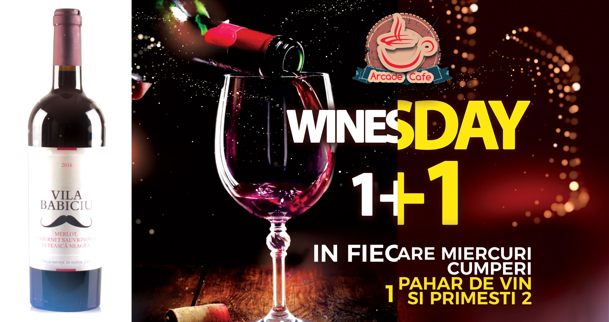 WINESDAY @ Arcade Cafe